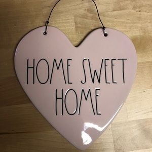"""New Rae Dunn """"Home Sweet Home"""" Plaque"""